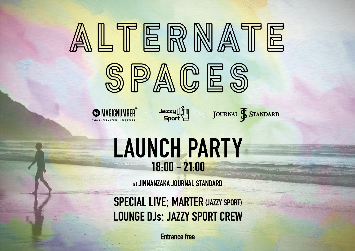Alternate Spaces 2019/4/26開催