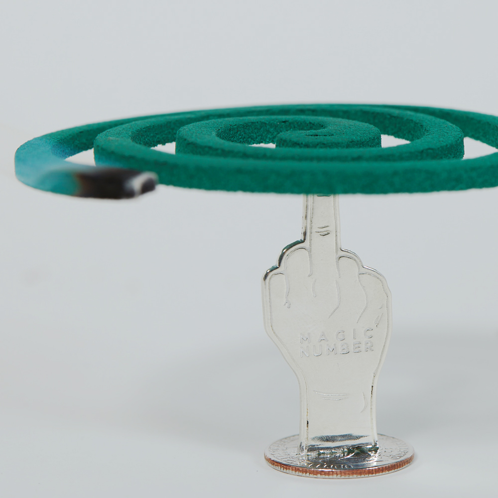 SHAFT SILVER WORKSさんとのコラボレーションで製作したオリジナルの蚊取り線香立てがHATCHにて先行受注