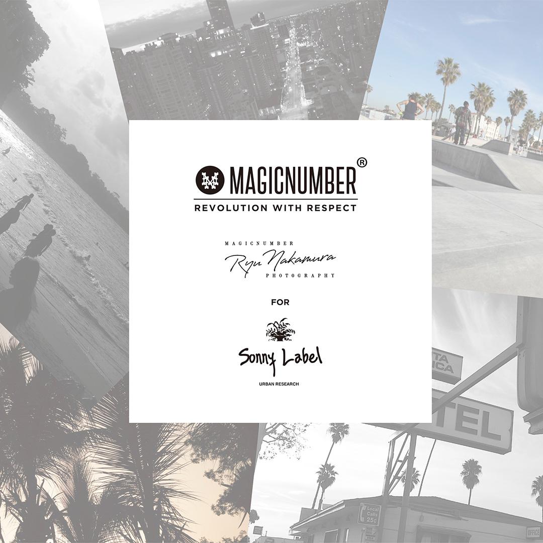 URBAN RESEARCH Sonny LabelとMAGIC NUMBERが今季もスペシャルコレクションを発売!