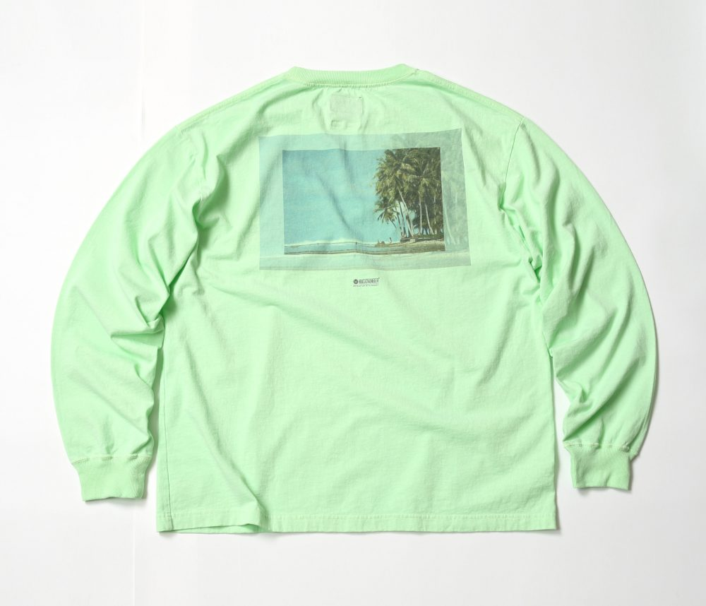 US COTTON SEE YOU IN THE WATER PHOTO L:S TEE_BACK