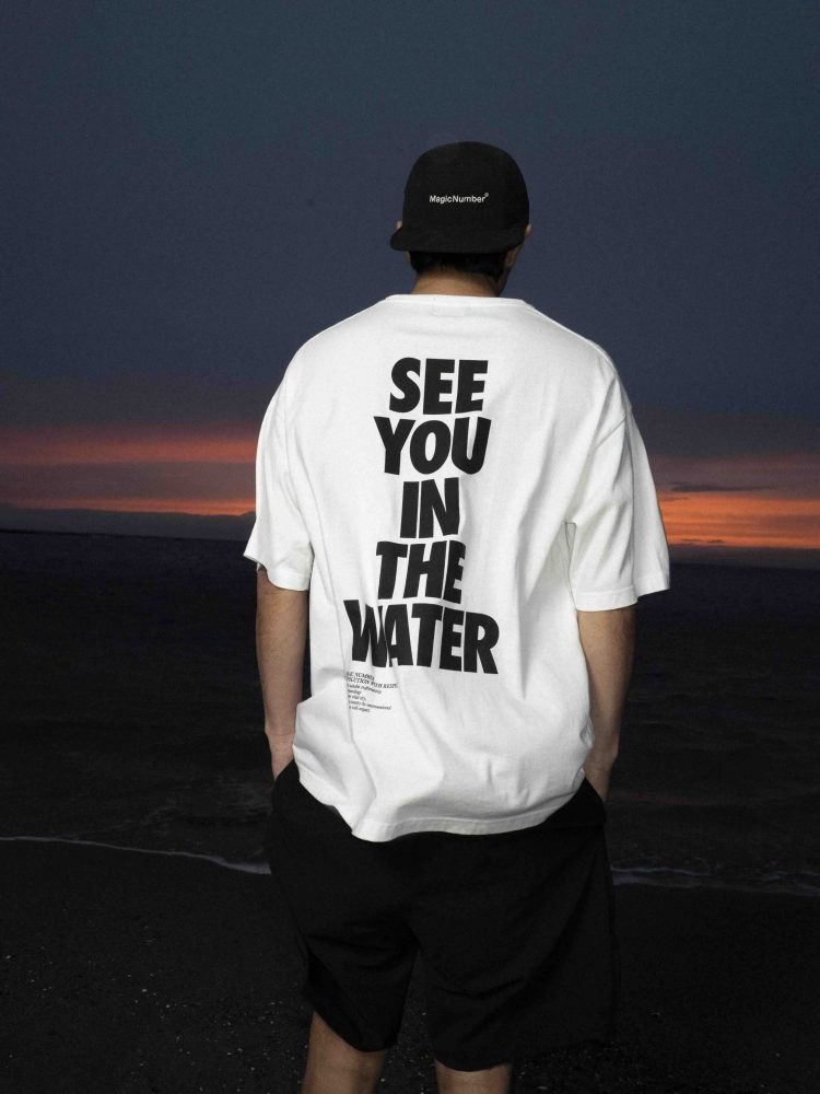 US COTTON SEE YOU IN THE WATER S:S TEE