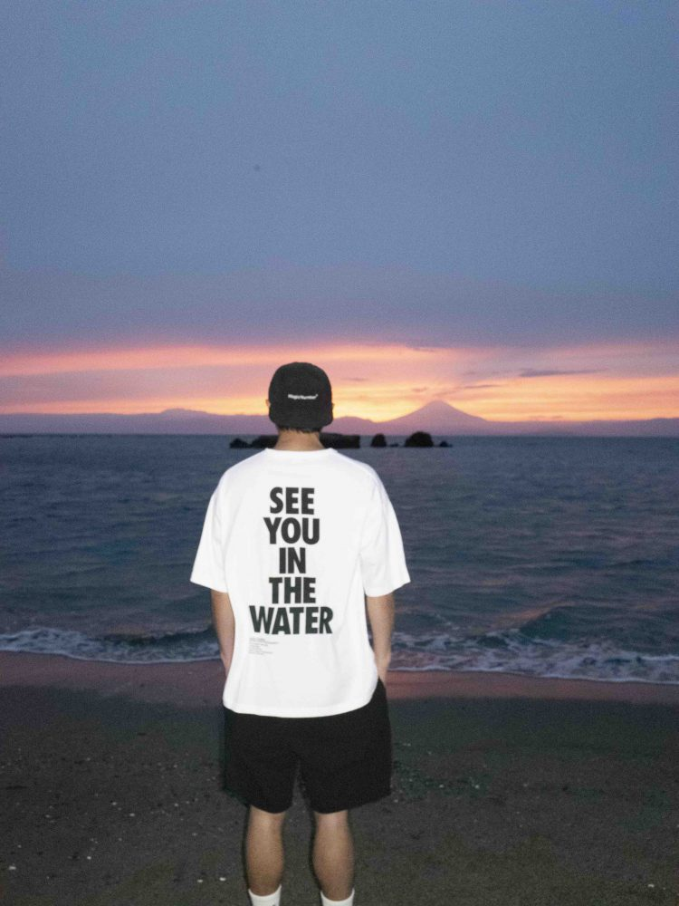 US COTTON SEE YOU IN THE WATER S:S TEE2