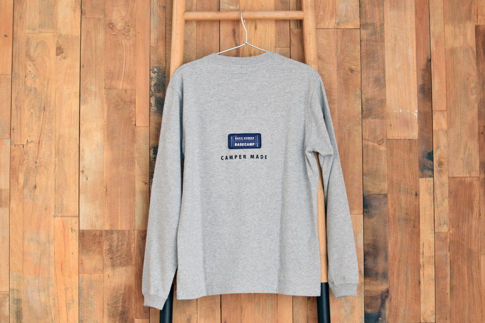 Wood ver.Long-T Gray back